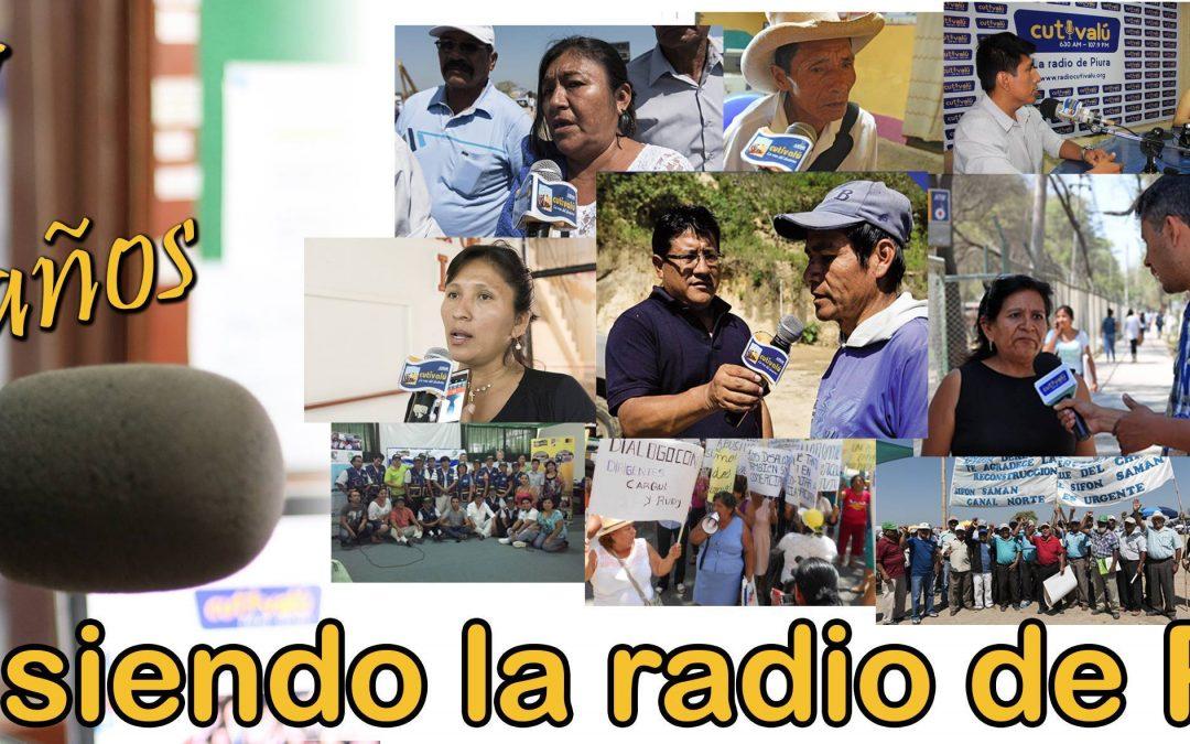 31 AÑOS DE RADIO CUTIVALÚ